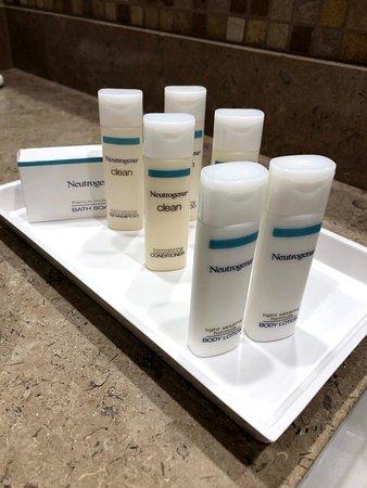 Neutrogena products...
