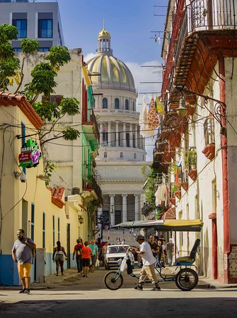 """Beautiful shoot of the cuban Capitolio. I took this shoot from Teniente Rey street located in Old Havana!!!"""