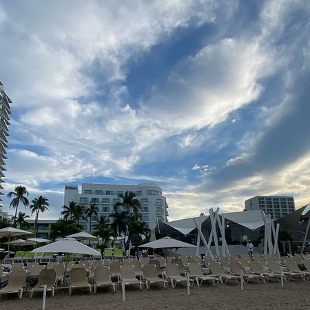 Here are some pictures of the beautiful constantly improving Hilton all inclusive resort in Puerto Vallarta