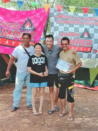 72 campers hold the record for 11 consecutive camping stay in H&n Campsite
