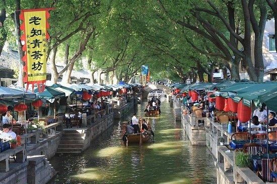 Shanghai til Suzhou og Tongli Water...