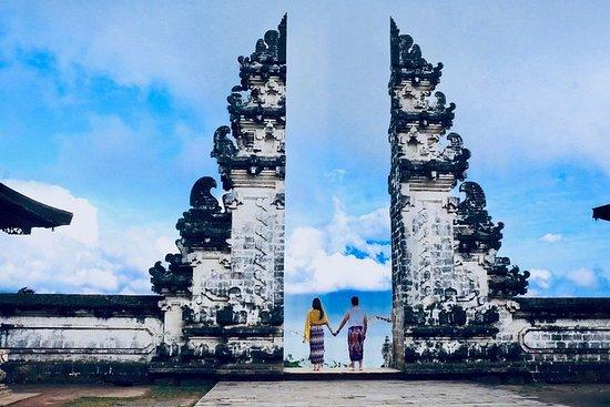 Portão no paraíso de Bali