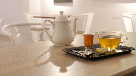 Our Menu... A refreshing blend of black tea...