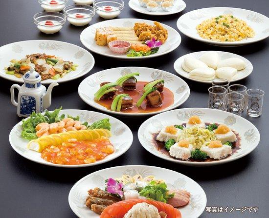王朝コース ¥3000 お二人様〜 (料理内容は季節よって変更もございます)