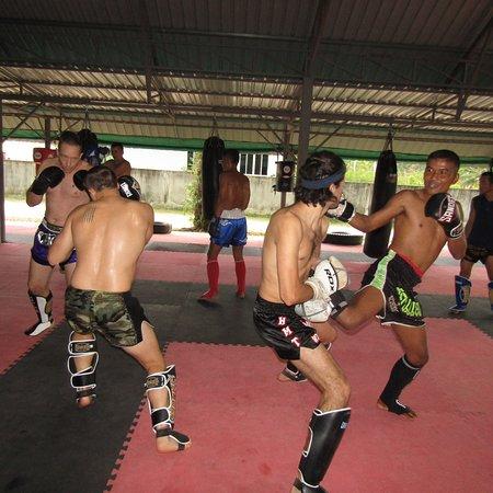 Thaiboxing Gym Thailand Krabi