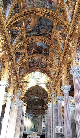 stunning frescoes