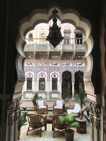 Fatehpur, India: Le Prince Haveli - an incredibly beautiful cultural treasure and amazing place to stay.