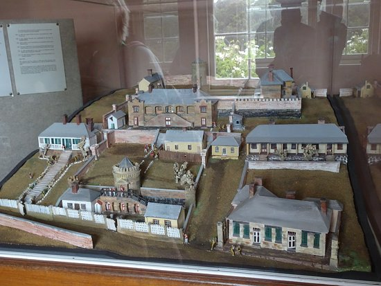 Port Arthur Komplex im Modell