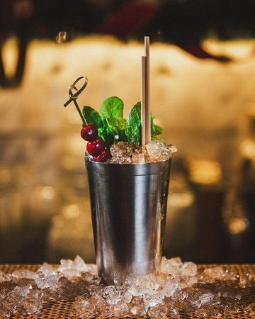 The Wall - One of our 22 signature cocktails!