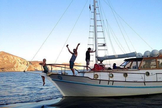 Crucero Caldera en un bote...
