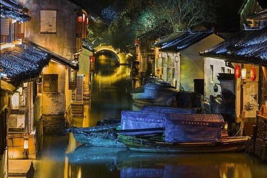 Shanghai privat layover-tur: Huangpu...