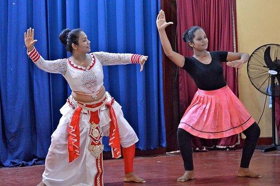 Srilankaanse drum- en dansles