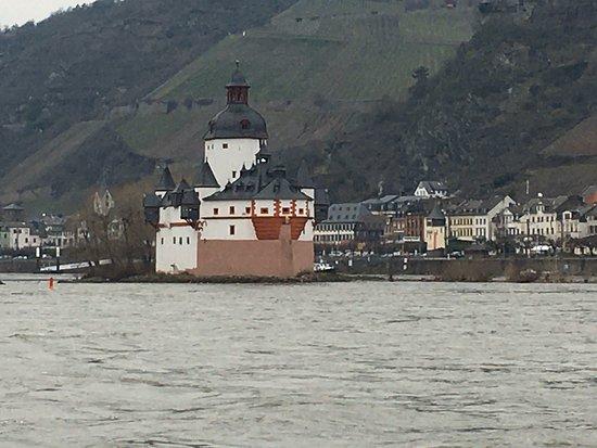 Kaub, Duitsland: Burg Pfalzgrafenstein