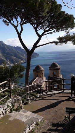 Ακτή Αμάλφι, Ιταλία: Panorama da Villa Rufolo