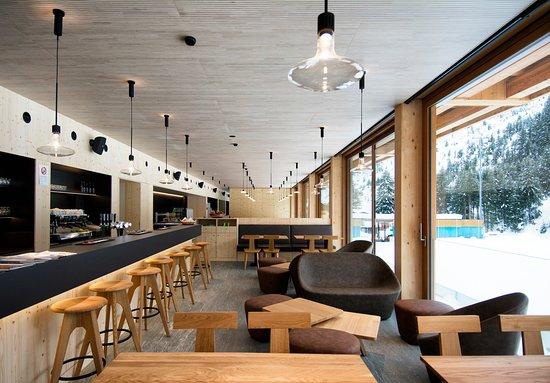 Olivone, Schweiz: Lounge-bar