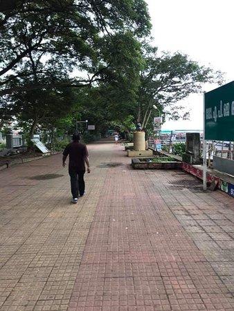 Marine Drive walkway in memory of APJ Abdul Kalam , former President of India