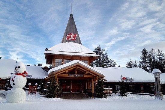 約會雪和冰-雪鞋行走,聖誕老人村,赫斯基騎雪旅館