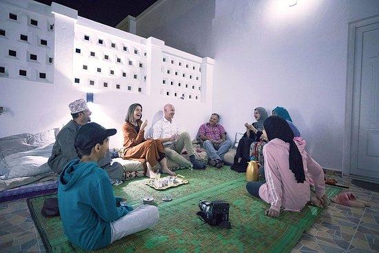 Authentique salle à manger omanaise