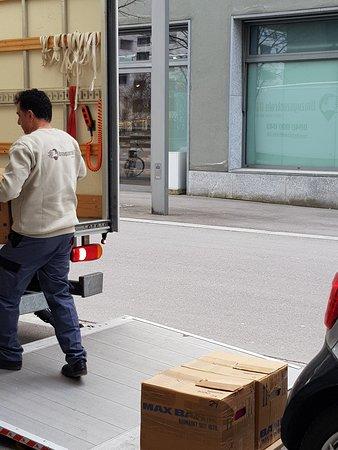 Nemačka: Umzugszentrale AG - Zügle ohni Sorge