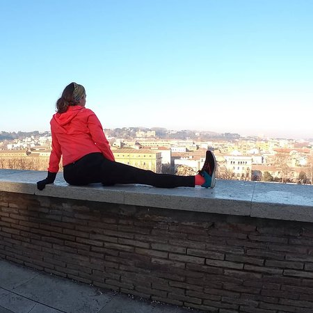 A view of Rome from Aranci's Garden