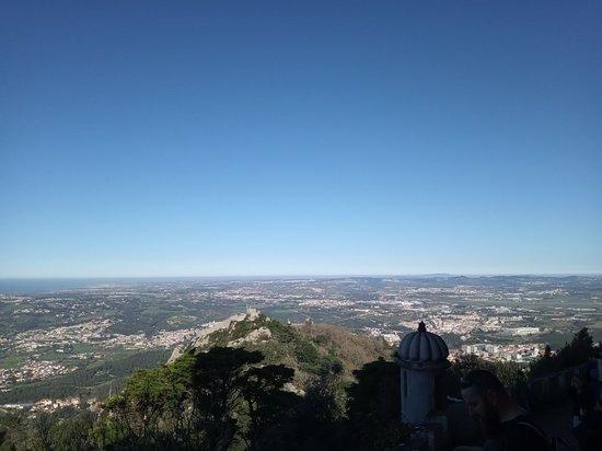 Tours and Transfers: Vista de cima pelo castelo