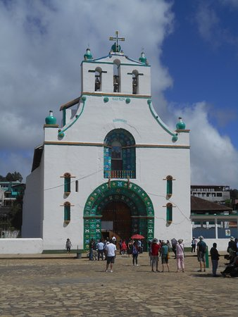 - San Juan Chamula church. - 1