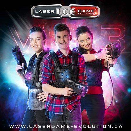 Laser Game Evolution Sherbrooke