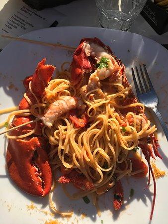 Spaghetti all'astice indimenticabili.