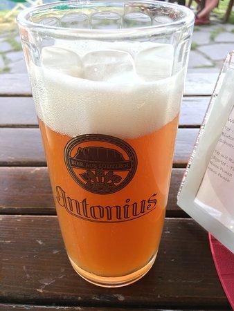 Lajen, Italija: Nice local beers