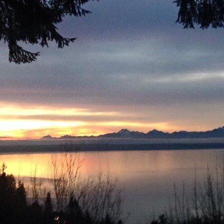Edmond, WV: Gorgeous sunset on Puget Sound