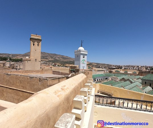 Destination Morocco An above look at Fes downtown