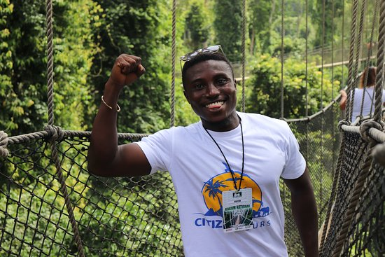 Accra - Cape Coast/Elmina Tour (The Return Experience): Kwame! The guide!