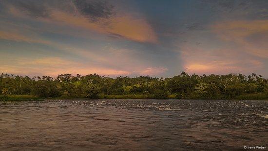 El Castillo, ניקרגואה: Luna del Rio: Sicht auf den Rio San Juan