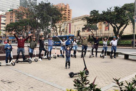 Bogotá Electric Scooter Tour