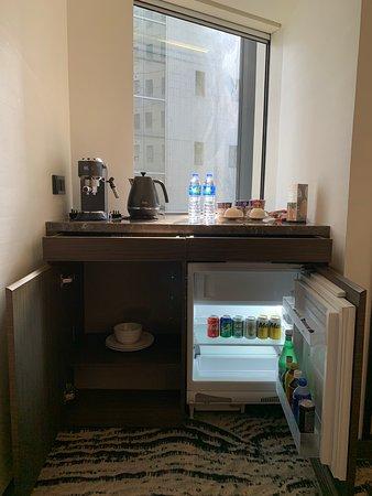 AKVO Hotel - fridge