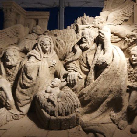 Province of Salerno, إيطاليا: Presepe di sabbia 😍