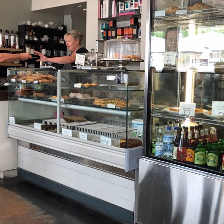 Delicious rolls and pastries
