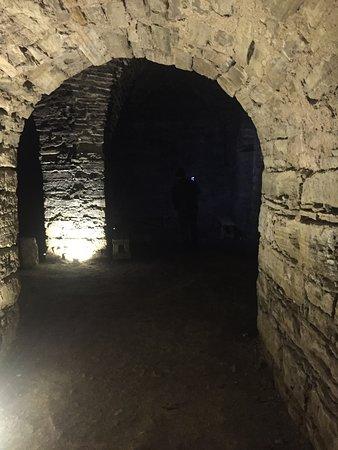 Dark depths of the fort