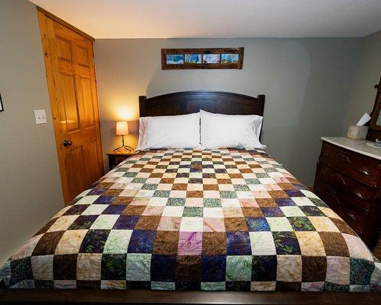 Crawford, CO: Stone Studio - Bedroom