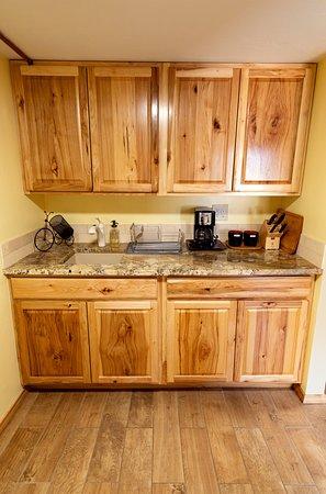 Crawford, CO: Stone Studio - Kitchen