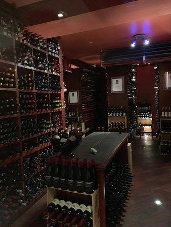 13,000 bottle wine cellar