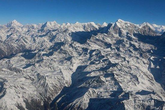 1 heure de vol sur la montagne...