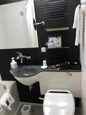 清潔なバスルーム。