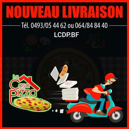 Houdeng-Goegnies, Bélgica: La casa della pizza.LCDP.BF