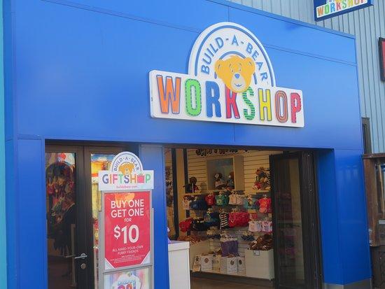 Build-a-Bear Workshop, Pier 39, San Francisco, Ca