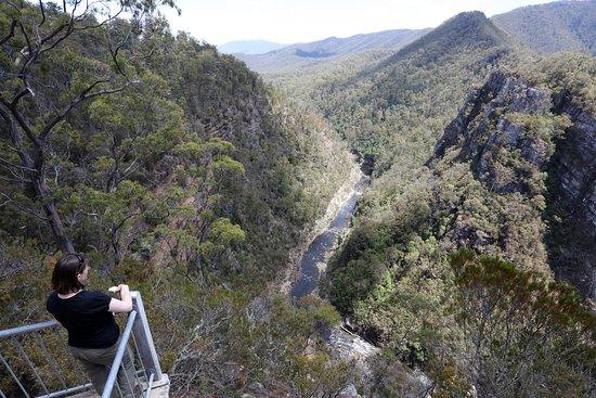 Chudleigh, Australia: The Alum Cliffs view