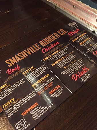 Smashville Burger