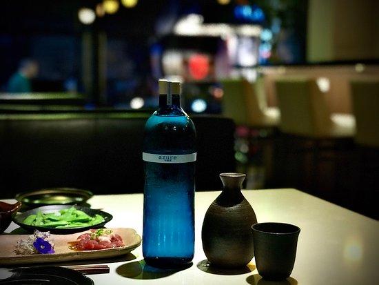 """The """"Azure"""" Junmai Ginjo Sake"""