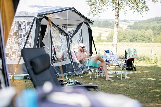 Burg-Reuland, Bélgica: Campingwiese