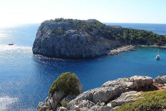 Boat Trip to Anthony Quinn, Kallithea...